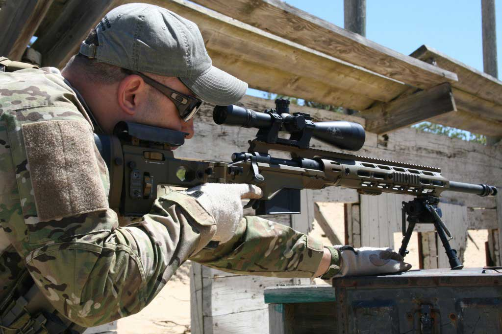 New XM2010 Sniper Rifle with RACS Chassis Sniper Weapon ...